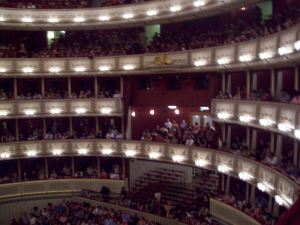 Catch a performance inside the opera house, Staatsoper.