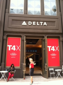 In celebrating the upcoming opening of its JFK Terminal 4, Delta invites the public to visit T4X, a pop-up lounge in Soho until May 22.