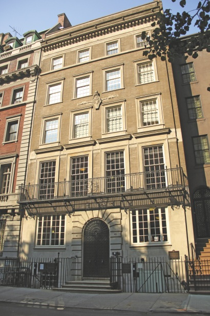 FDR home exterior - East 65th Street