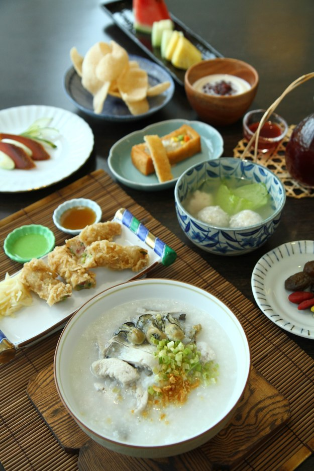 Set B (with fish congee)