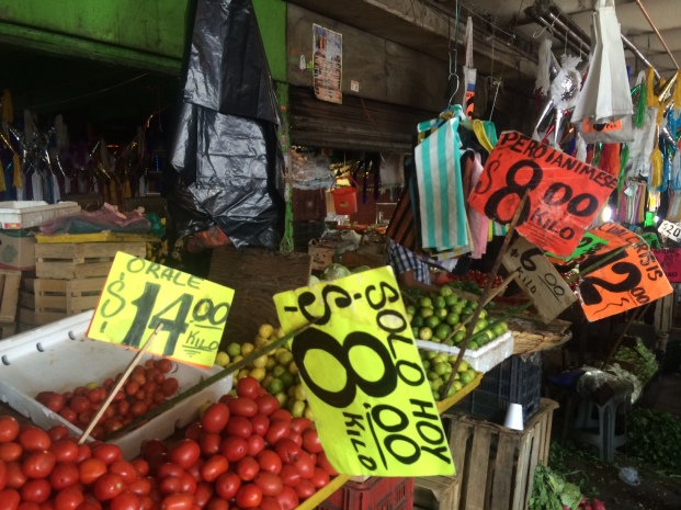 Scenes from Central de Abasto, Mexico City's major wholesale market