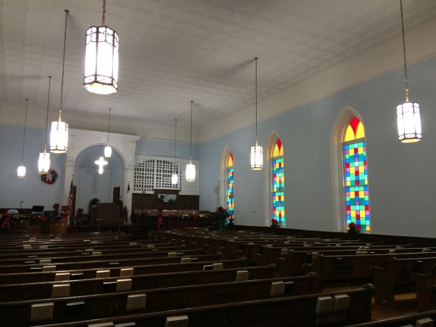 Dexter Avenue Church interior