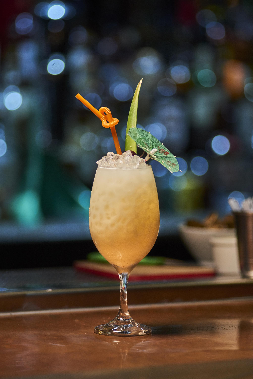 Piña Colada Cocktail - Credit Jungle Bird Bar